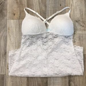🔥WHITE LACY LINGERIE🔥